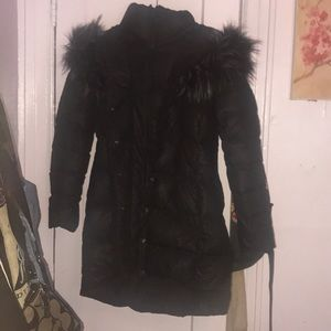 Fur Trim North Face Coat